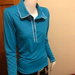 Adidas long sleeve golf top size small